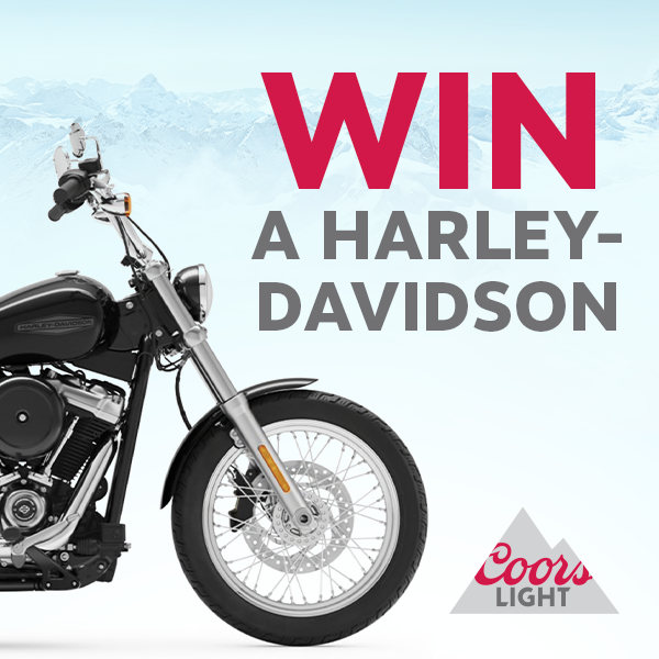 Coors Light Harley-Davidson Giveaway